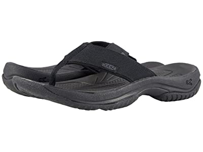 Keen Kona Flip (Black/Steel Grey) Men