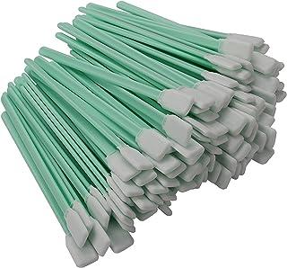 "VANLAN 100pcs 5.1"" Polyester Cleaning Swab Sticks For Solvent Format Inkjet Printer Roland Optical Equipment"