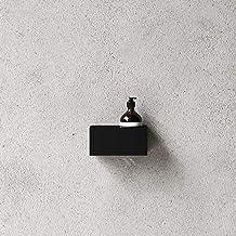 Nichba Badplank 20 voor badkamer minimalistisch Deens Design Zwart Wit (zwart)