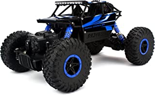 Velocity Toys Rock Crawler Remote Control RC High Performance Truck 2.4 GHz Control System 4WD All-Weather 1:18 Size RTR (Colors May Vary)