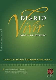 Biblia de estudio del diario vivir NTV (Letra Roja, Tapa dura, Verde) (Spanish Edition)