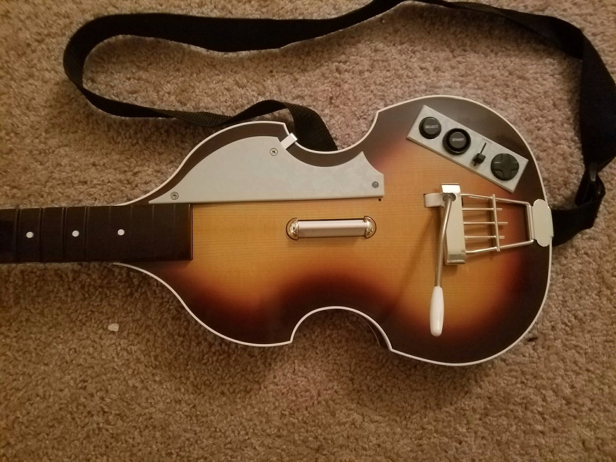 Rock Band The Beatles Hofner Bass Guitar Controller para ...