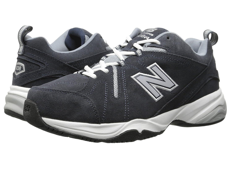 (ニューバランス) New Balance メンズトレーニング?競技用シューズ?靴 MX608v4 Navy 10 (28cm) 4E - Extra Wide