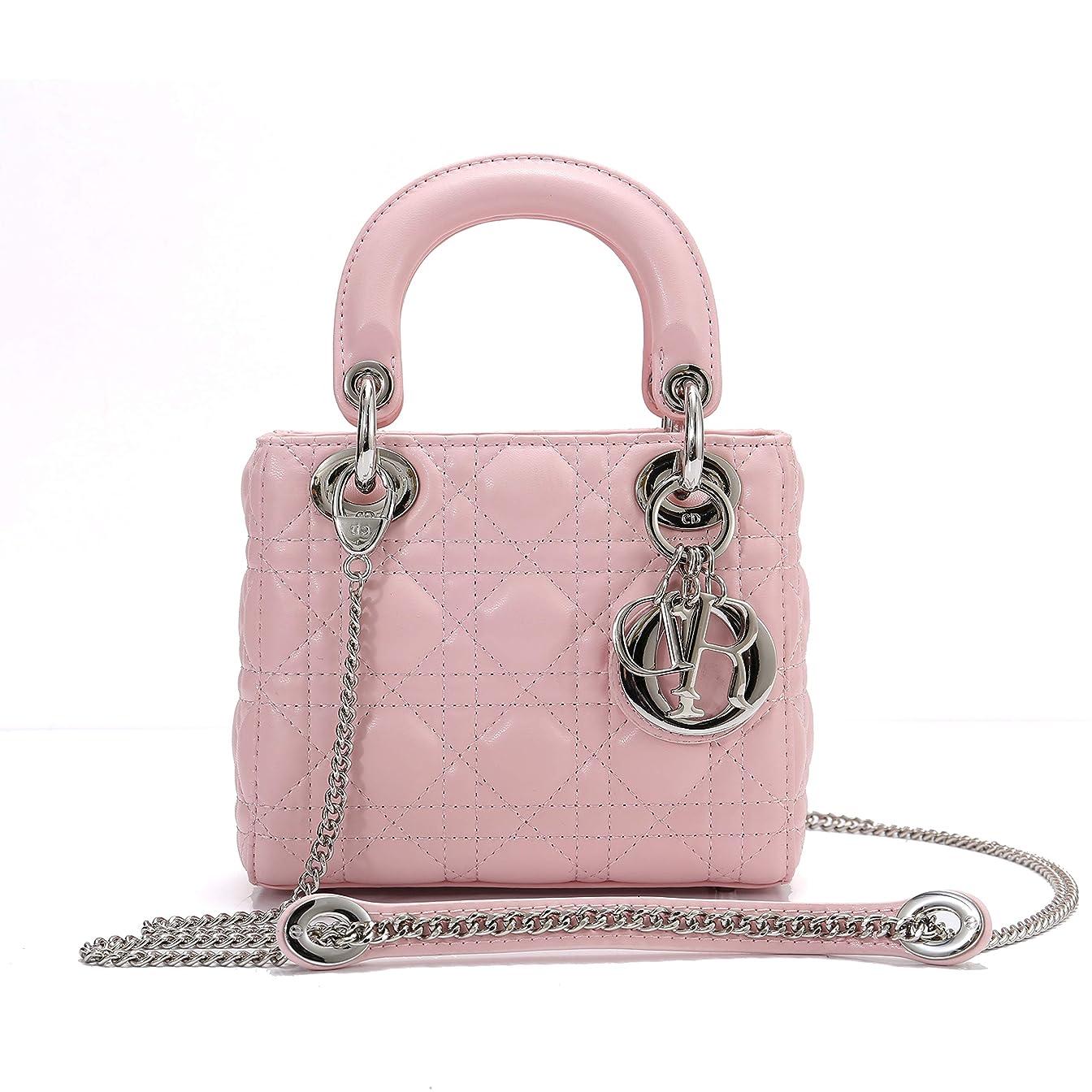 理解生じる地域Dior(ディオール) M0505PCAL ラムスキン LADY DIOR バッグ チェーン ミニバッグ [並行輸入品]