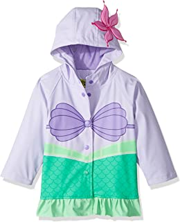 Western Chief - Chamarra impermeable para niñas, color Ariel Disney Princess, talla 2T