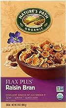 Nature's Path Flax Plus Raisin Bran Cereal, Healthy, Organic, 14 Ounce Box