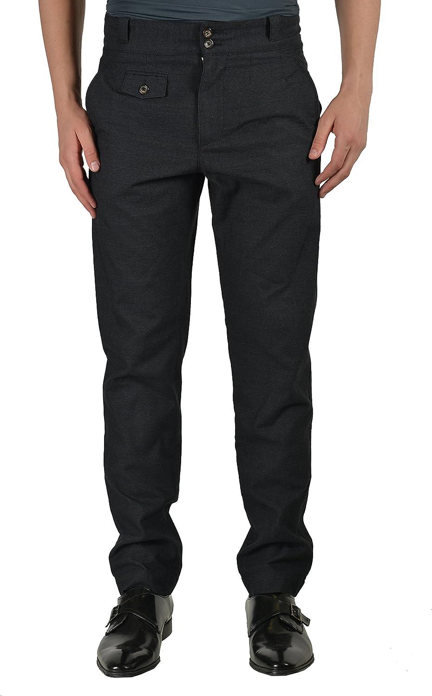 Dolce & Gabbbana Wool Gray Men's Casual Pants US 28 IT 44