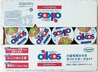 #583076 DANONE OIKOS ダノン オイコス ヨーグルト ストロベリー はっ酵乳 1320g(110g×12ヶ)