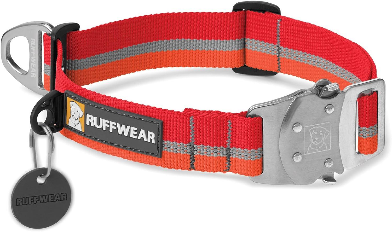Ruffwear Top Rope Collar, Medium, Kokanee Red