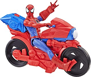 Spider-Man Titan Hero Series Figure with Power Fx Cycle Plays Sounds & Phrases