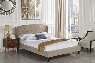 Best beige bed frame queen Reviews