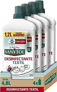 comprar comparacion Sanytol - Desinfectante Textil - 4 unidades de 1200ml