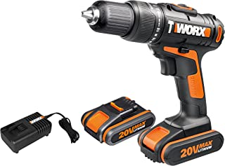 Sponsored Ad – WORX WX386 18V (20V MAX) Cordless Hammer Drill with x2 2.0Ah Battery Packs