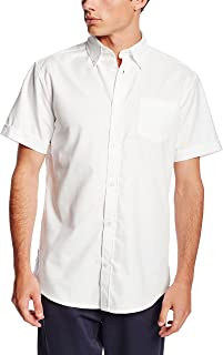 short sleeve shirt with tie