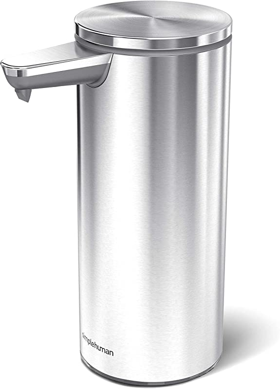 Simplehuman 9 Oz Sensor Soap Pump Brushed Stainless Steel