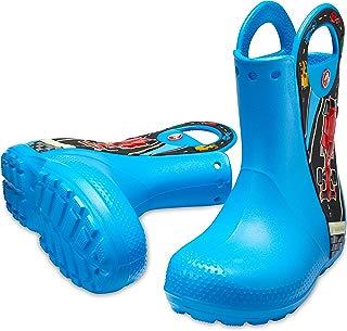 Crocs Infantil Bota Handle It Graphic, Azul, Tamanho 25 BRA