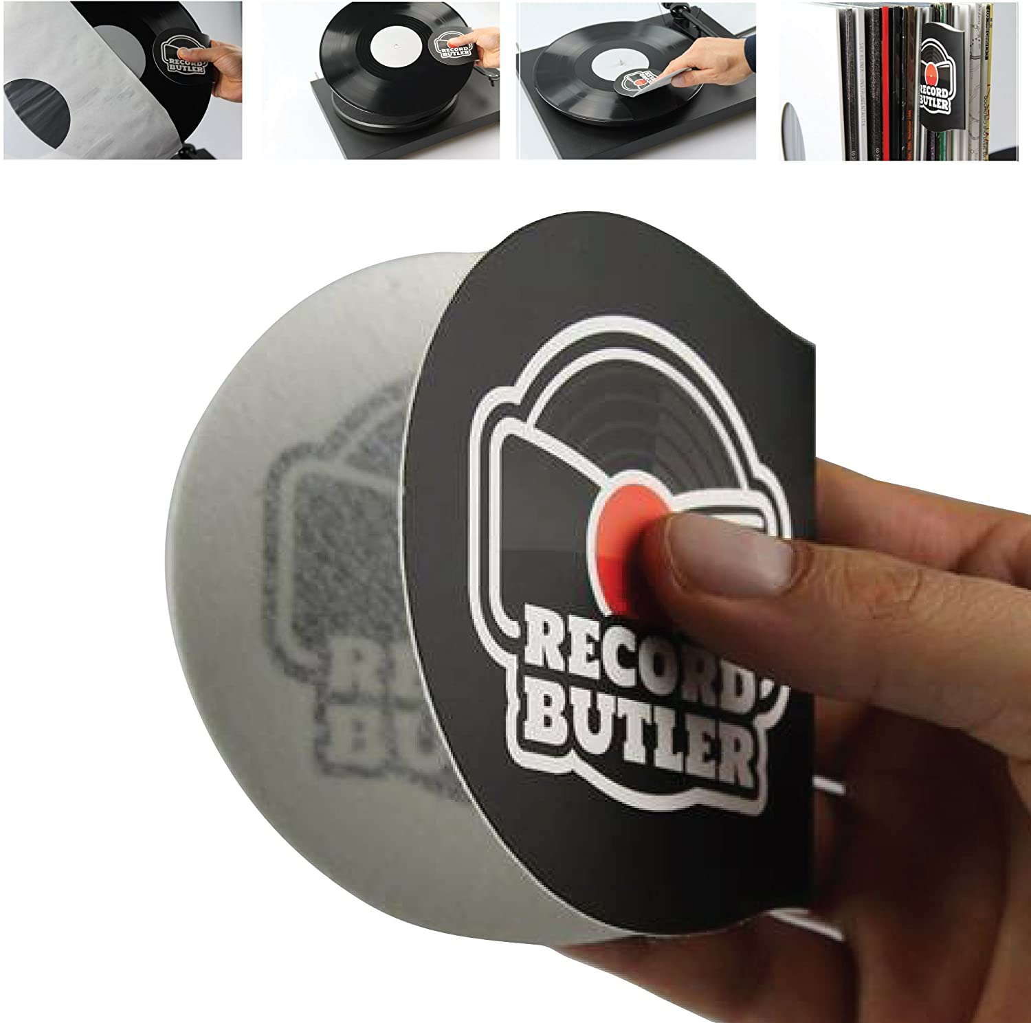 New color The Record Butler 2-Pack Anti S Cleaner Handler. Static Trust