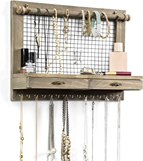 wall mounted jewelry holder
