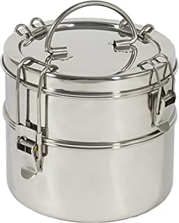 To Go Ware 2-Tier Stainless Steel Tiffin Lunch Box
