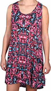 Womens Push Back Tank Dress