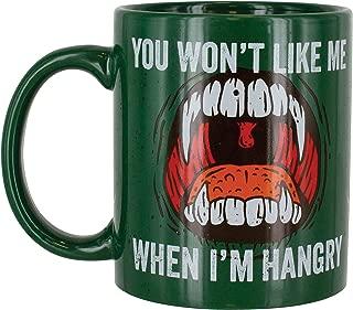 Paladone You Won't Like Me When I'm Hangry - Ceramic Novelty Coffee Mug 10oz