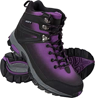 Mountain Warehouse Intrepid Womens Softshell Boots - Waterproof Shoes