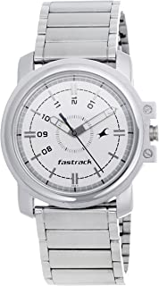 Fastrack Economy Analog White Dial Men's Watch -NG3039SM01C