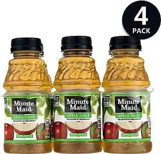Minute Maid Apple Juice with vitamin C, Fruit Juice Drink, 10 fl oz, 24 Count - 4 Pack