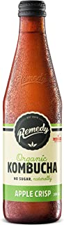 Remedy Organic Kombucha Apple Crisps, 330ml