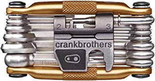 CRANKBROTHERs Multi-Tool - Steel Bike Tool, Torx, Hex and...