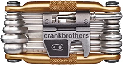CRANKBROTHERs Multi-Tool - Steel Bike Tool, Torx, Hex and Chain Tool Compatible (M19, M17, M10, M5)