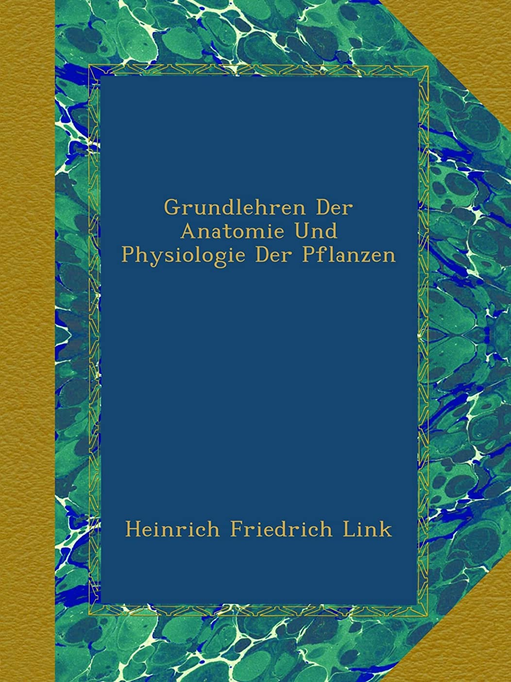 実質的居間イーウェルGrundlehren Der Anatomie Und Physiologie Der Pflanzen