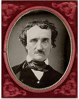 Edgar Allan Poe Portrait - 11x14 Unframed Art Print - Great Library Decor or Gift Under $15 for Horror Fans