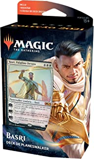 Deck de Planeswalker de Teferi, Viajante Atemporal de Magic. The Gathering | Coleção Básica 2021 (M21) | Deck Inicial de 6...
