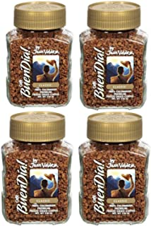 Buendia by Juan Valdez Classic 100% Colombian Freeze Dried Coffee, 3.52 oz. Pack of 4