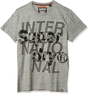 SuperDry Mens International Monochrome INTERNATIONAL MONOCHROME TEE