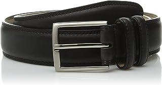 حزام جلدي Stacy Adams رجالي 34 مم مع بطانة من الألياف الدقيقة