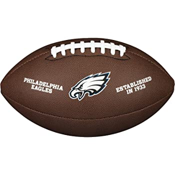 Wilson WTF1748XBPH Balón de Fútbol Americano, Nfl Team Logo ...
