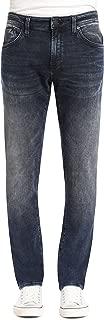 Jeans Mens Jake Regular Rise Slim Leg in Ink Used Authentic Vintage