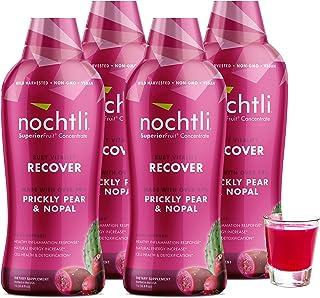 Nochtli (4-Bottles) Ruby Antioxidant (100% Prickly Pear and Nopal)