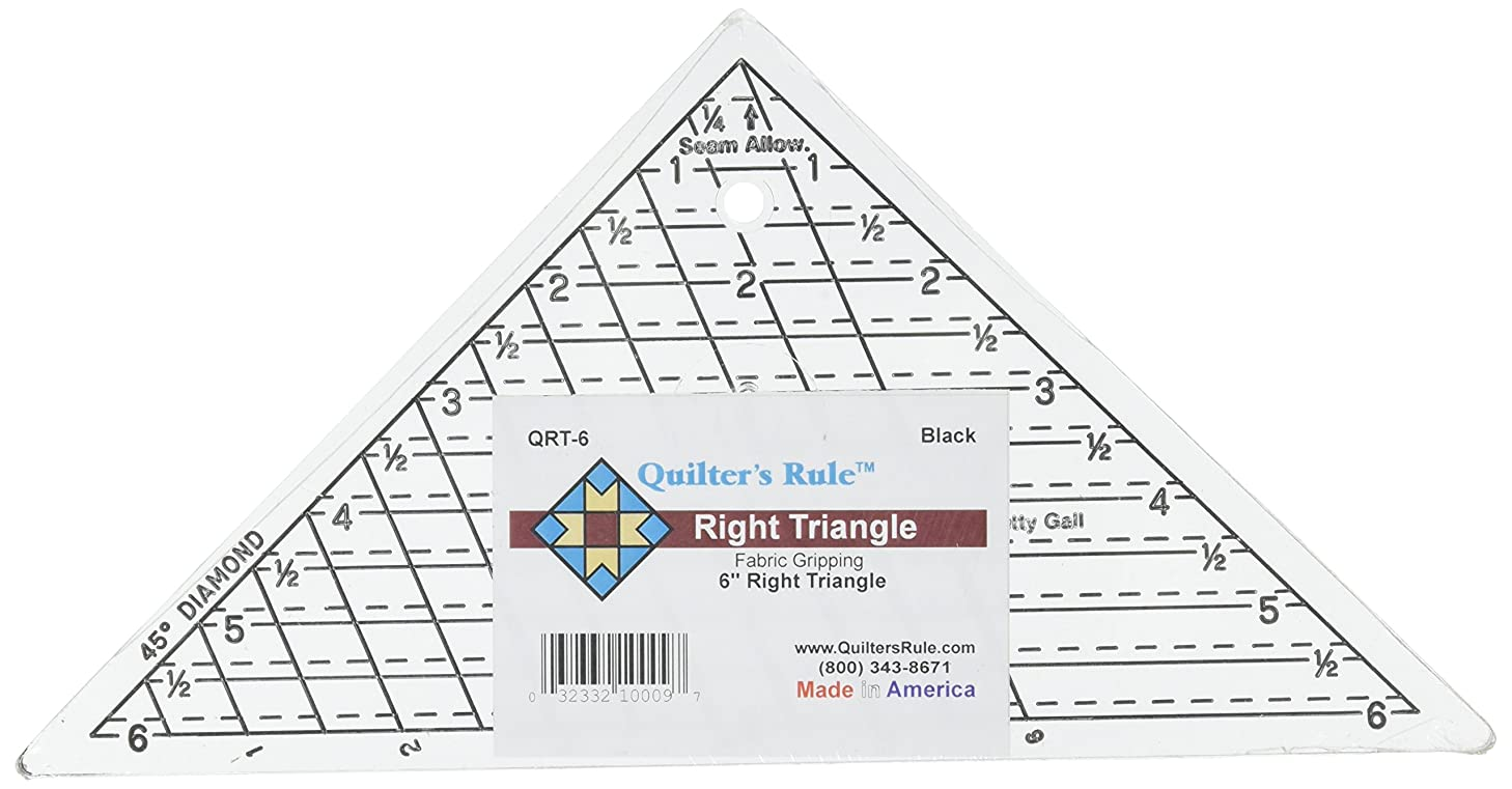 Quilter's Rule Mini-Triangle Quilter's Ruler-6-3/4 X6-3/4 X9-1/2
