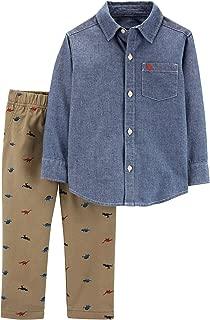 Carter's Boys' 2 Pc Playwear Sets 249g395 - Blue - 4T