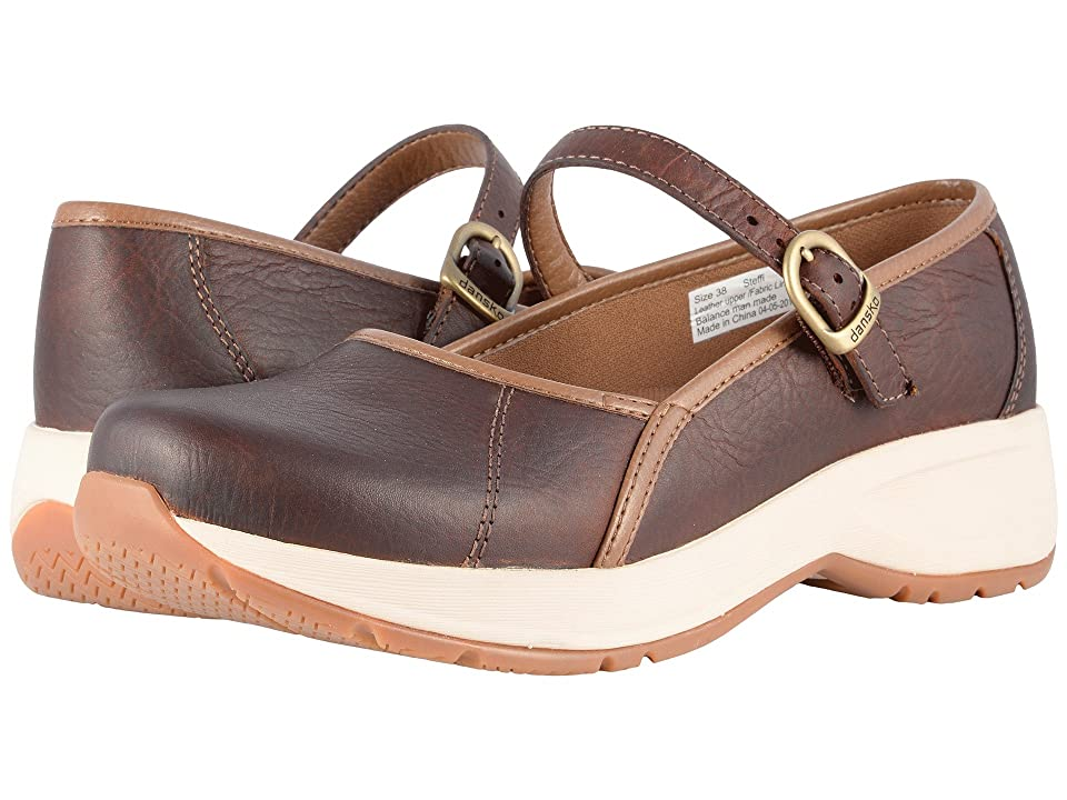 Dansko Steffi (Brown Tumbled Pull Up) Women