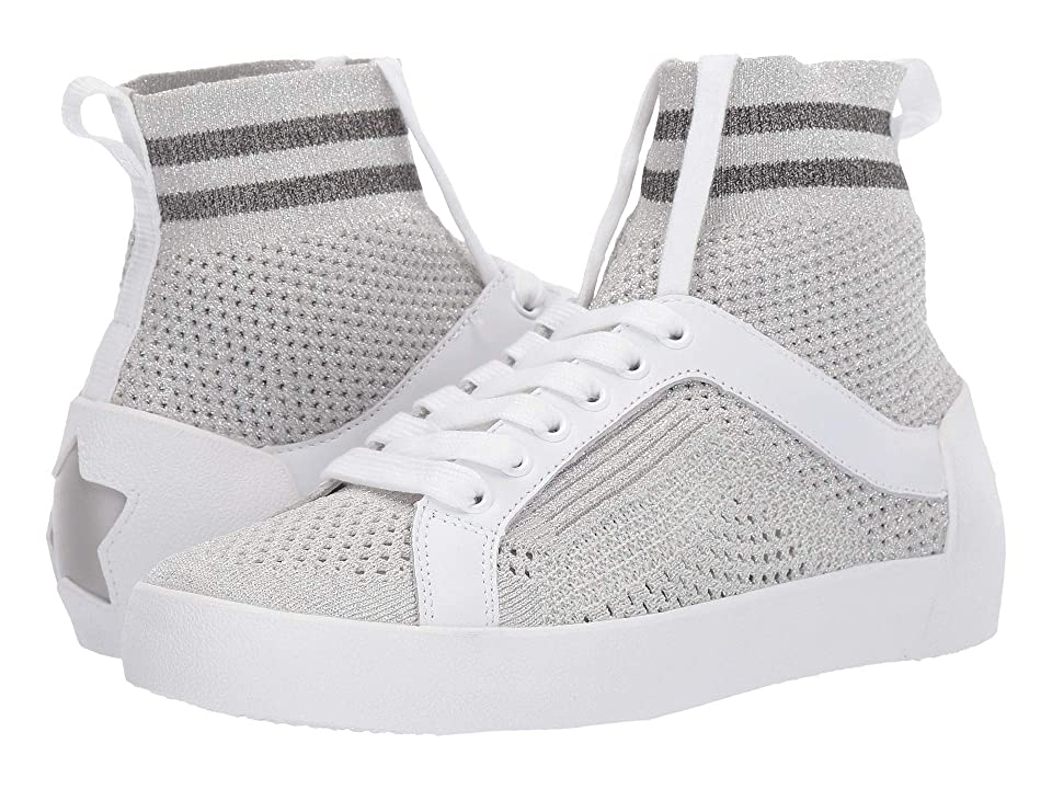 ASH Ninja (Knit Off-White/Grey/Grey) Women