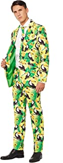Stylish Halloween Suits for Men in Different Prints – Costumes Include Jacket, Pants and Tie