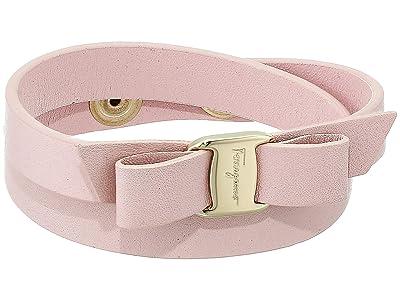 Salvatore Ferragamo Vara Double Wrap Bracelet (Macaron) Bracelet