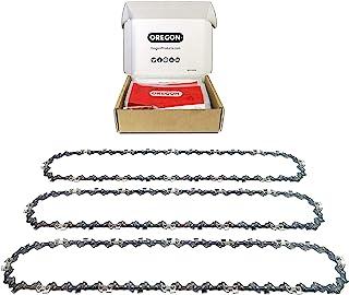 OREGON 3 x AdvanceCut zaagketting .3/8 inch standpunt, 043 inch (1,1 mm) meter, 52 aandrijfkoppelingen voor 35 cm (14 inc...