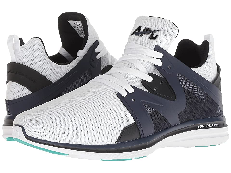 Athletic Propulsion Labs (APL) Ascend (White/Black/Midnight) Men