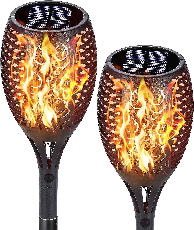 ivSunTEK 55% OFF Solar Lights NEW before selling ☆ Outdoor Landscape Torches Light Decorative