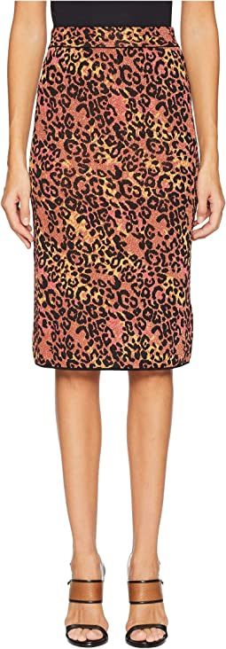 Animal Lurex Skirt